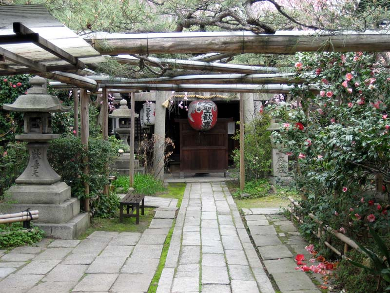 A little shrine off in the inaka, Kyoto
