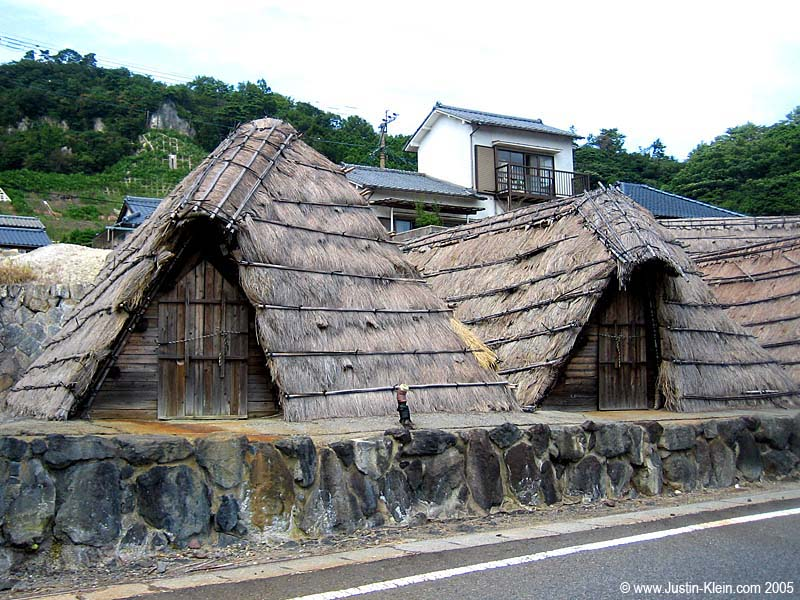 Some very cool looking huts, Beppu