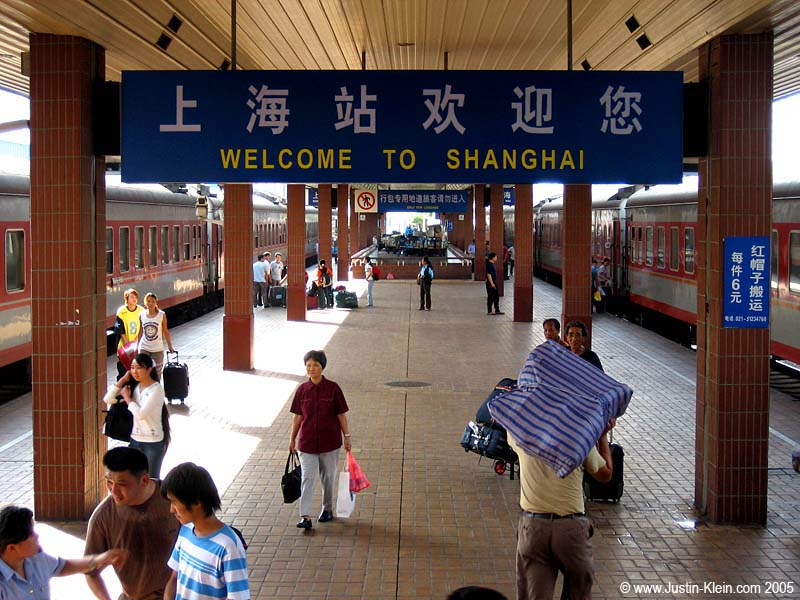 Welcome To Shanghai.