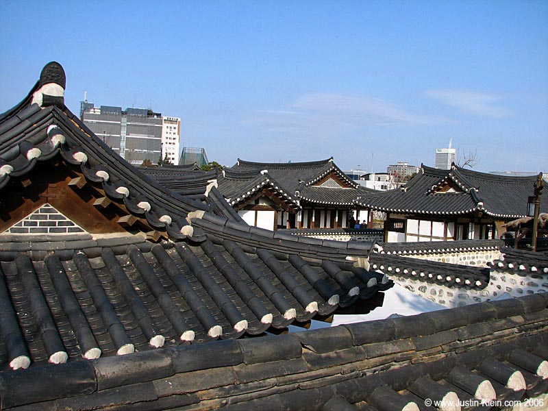 Rooftops of Namsangol.