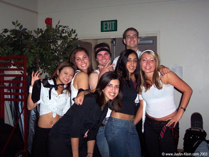 Miss UCSD, a Sigma Nu event in '03 (with David J rising above)…