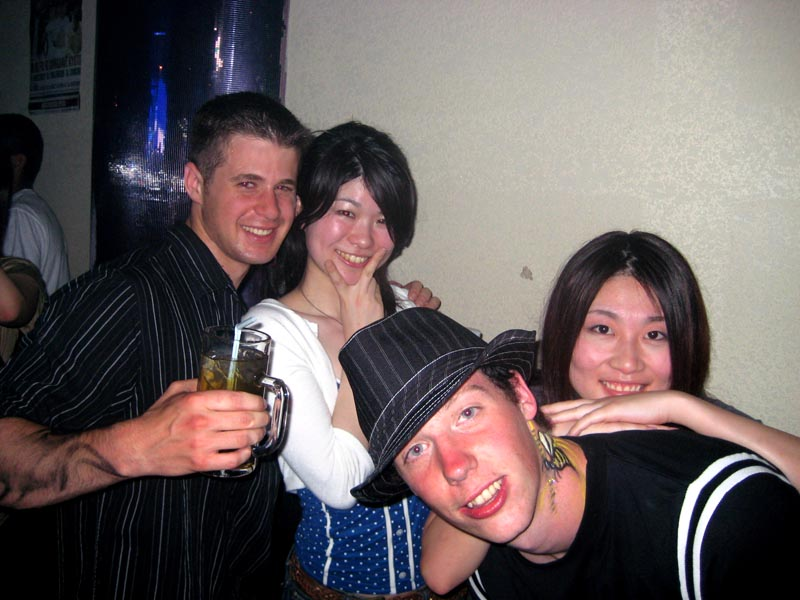 Me, Patrik, Miho, and one of Miho's coworkers from Kiyocera.