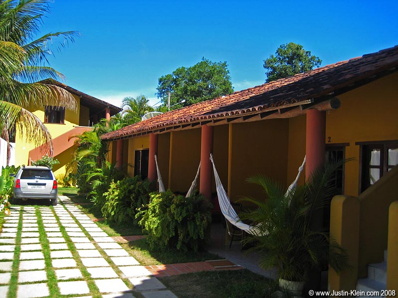 Our Trancoso lodging.