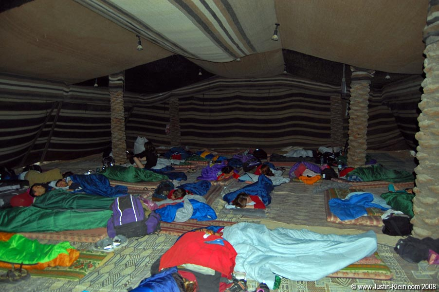 Our sleeping quarters.