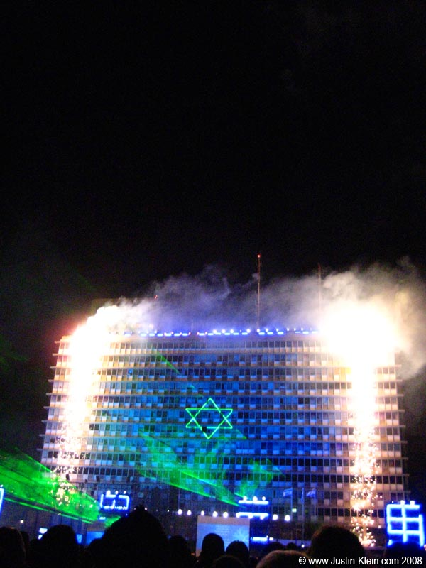 Israel's 60th Independence Day in Rabin Square.