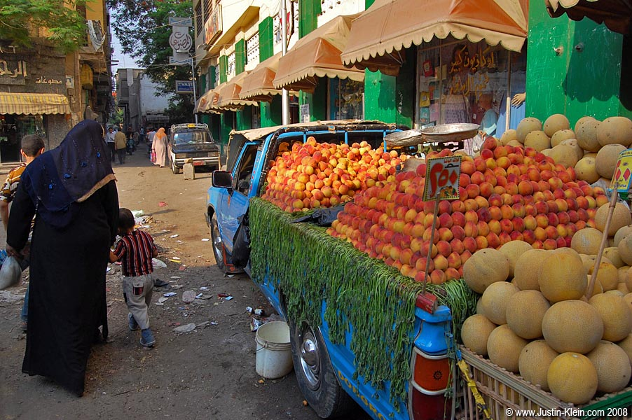 The local fruit market.