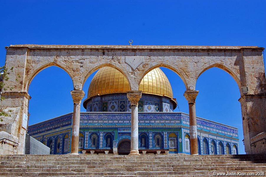 Dome of the Rock – one of the holiest Muslim sites.