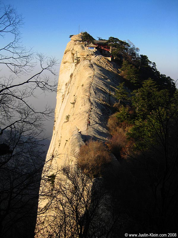 One of Huashan's five peaks.  Spectacular.