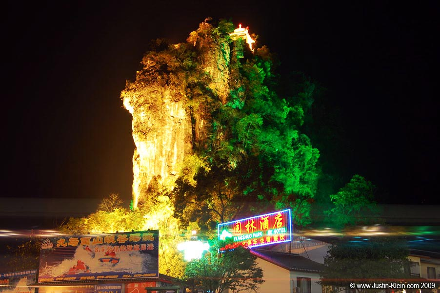 I've mentioned already the spectacular limestone peaks dotting Yangshuo and the surrounding areas…