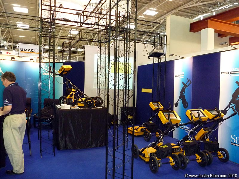 Our exhibition booth at Bauma