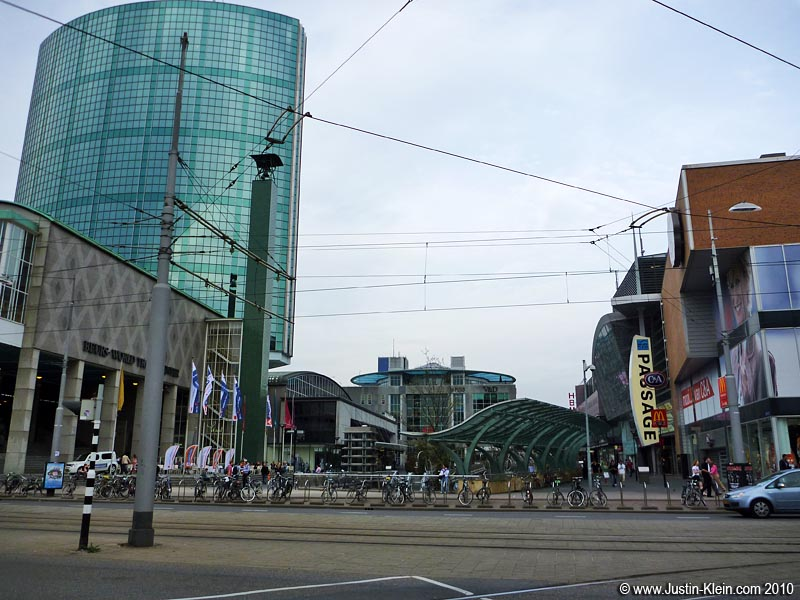 Rotterdam is generally regarded as an overly modern city…