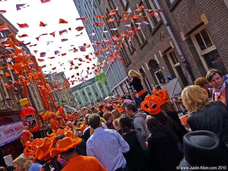 Queen's Day, Amsterdam.