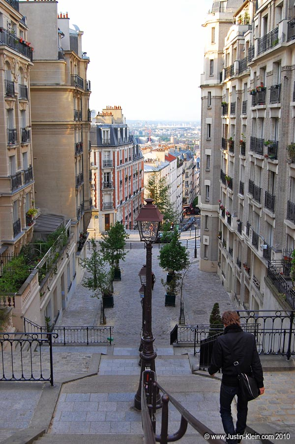 A nice view in Montmatre.