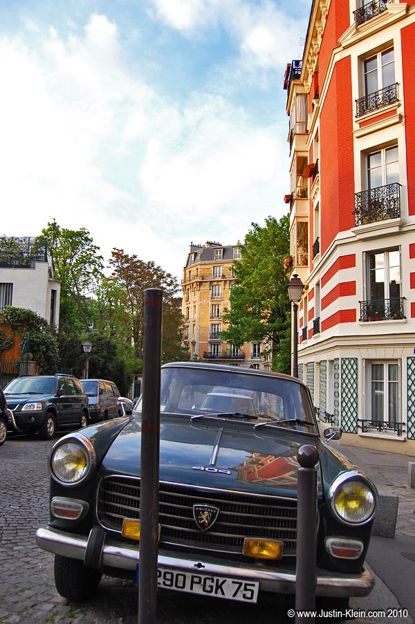 A little French car…in France! : )