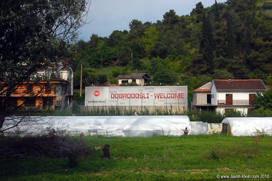 Welcome to Bosnia!