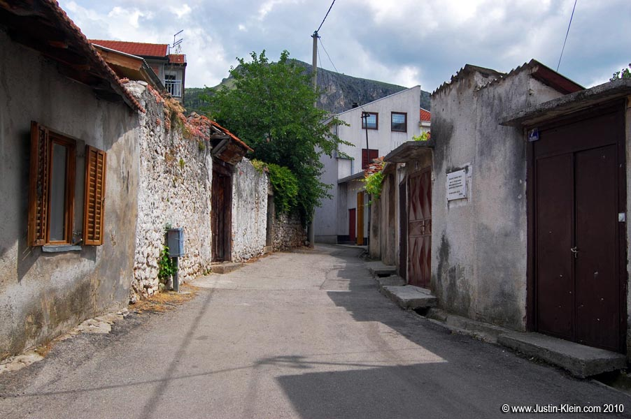 "I have no idea why, but for some reason little streets like this just really ""feel"" like Bosnia."