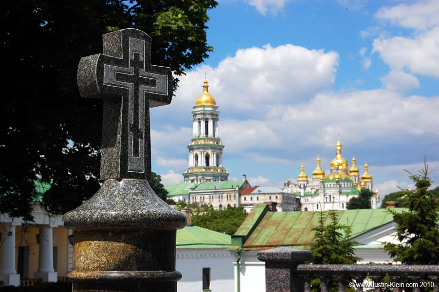 The Lavra.  A photographer's playground, an artist's dream, an atheist's nightmare.