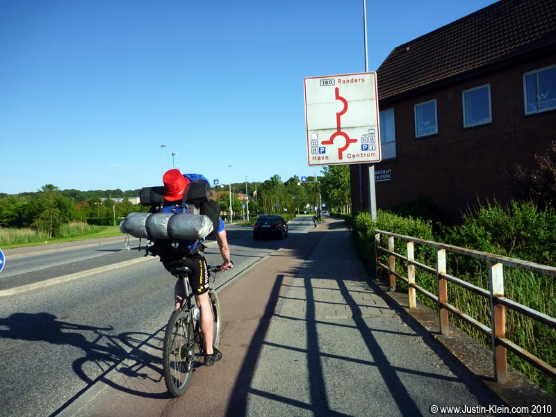 …Before the final push to Randers.