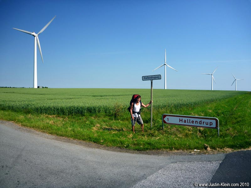 Because Denmark&#8217;s so windy, it should come as no surprise that its countryside is <b><i>full</i></b> of massive windmills like these.