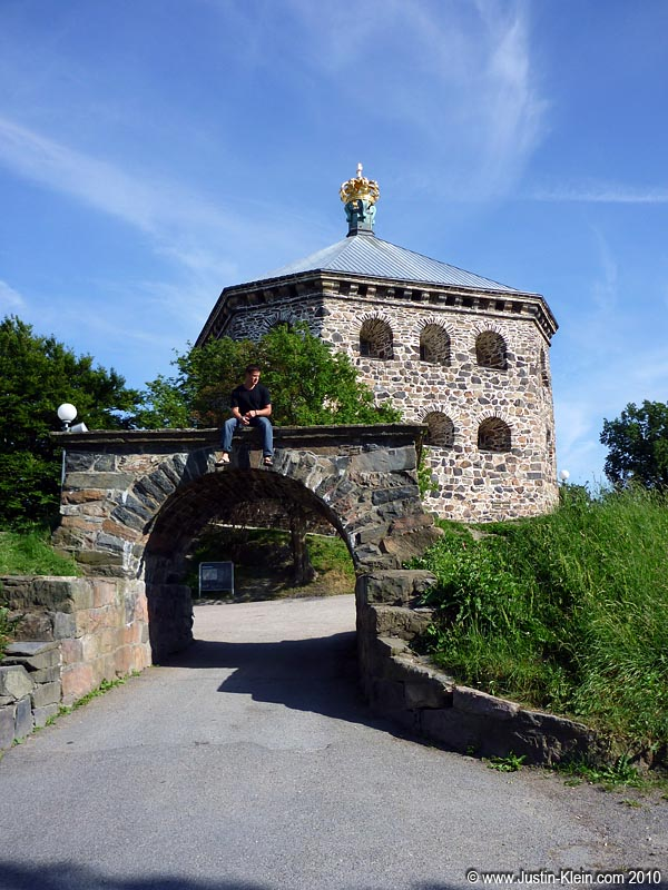 One of Gothenburg's two old defense towers.