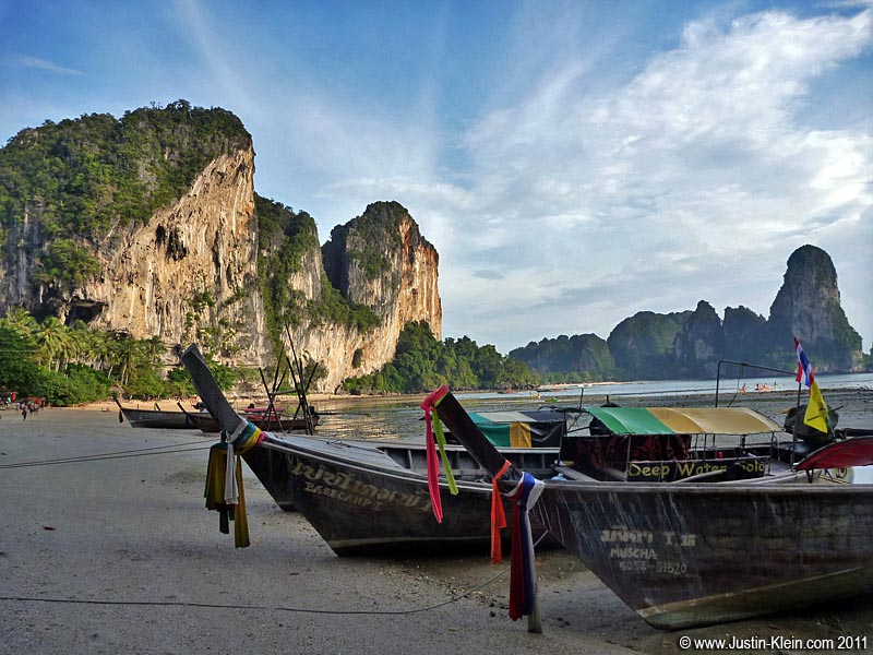 Railay, on Thailand's Andaman coast.