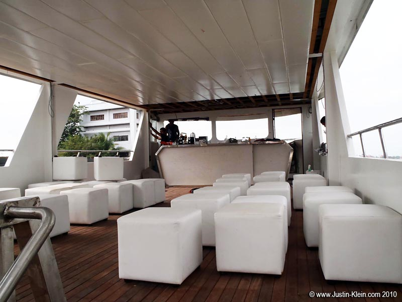 The main deck.  Designed and built completely from scratch.