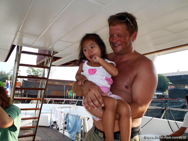 Andy and the shipyard owner's daughter.  Both Anders and Andy – like pretty much everyone I've ever met from Scandinavia – are two fantastically cool and friendly guys.  I can't wait to join them on the open waters of Thailand : )