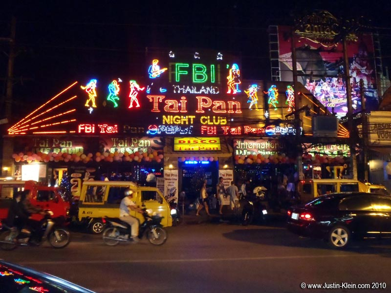 FBI, one of Patong's more well-known nightclubs.
