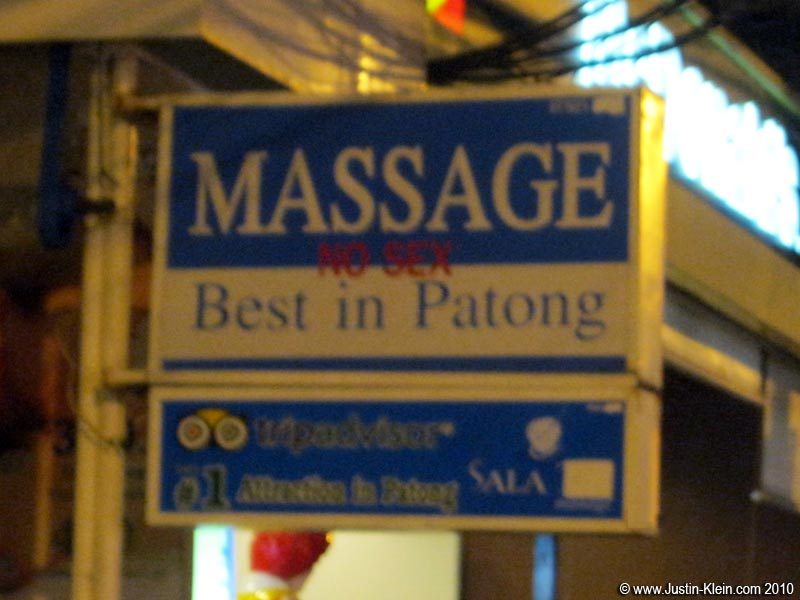 …Because the other kind of massage is apparently much more common.
