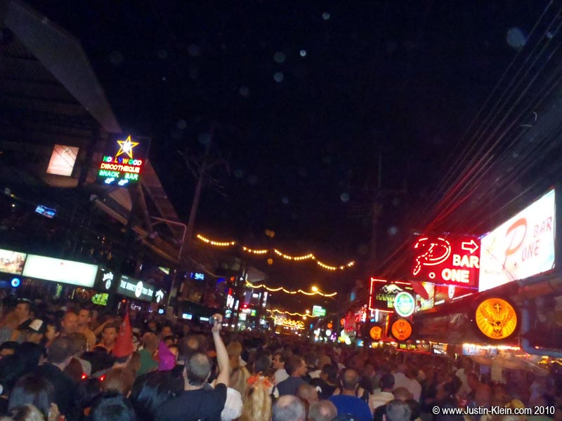 Bangla Road – packed to the gills.