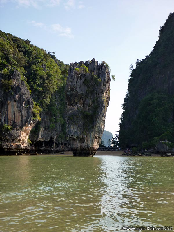 James Bond Island.  Quite a bit smaller than I expected, really.