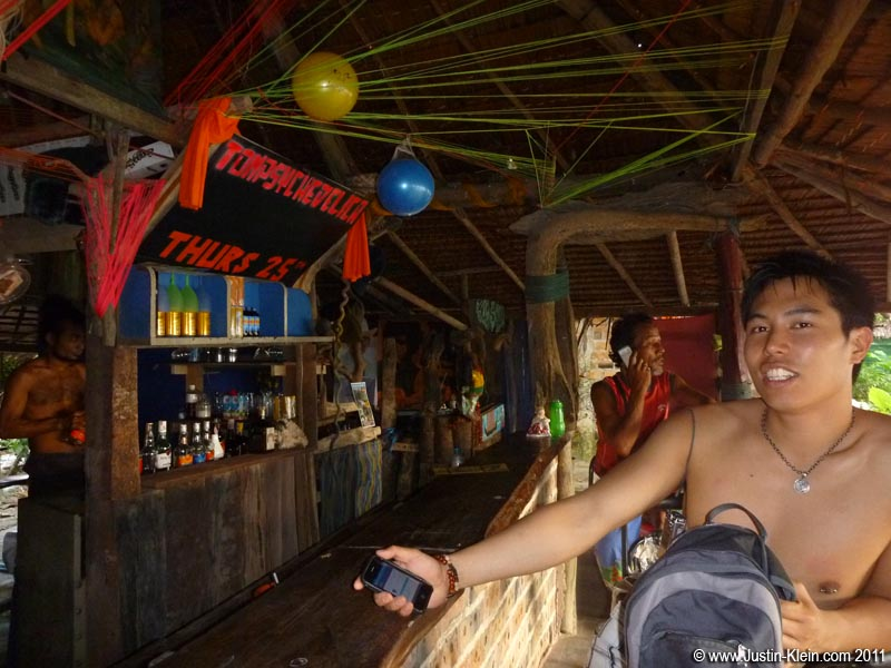"It doesn't get much more ""Thai Island"" than this: wander into a small beach bar constructed by hand from driftwood and rope, and a dreadlock-laden bartender offers you a joint before your first drink."