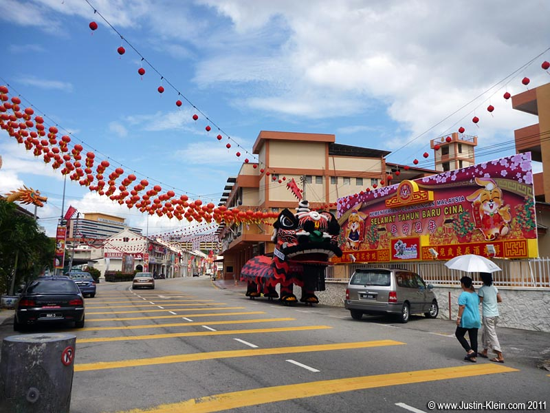 Melaka's Chinese influences are obvious almost immediately.