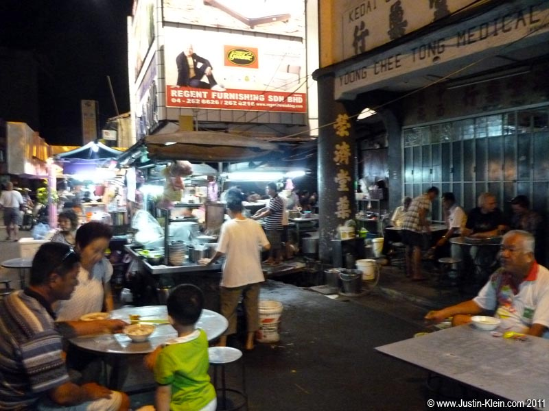 Malaysian Chinatowns are loaded with street carts – though unlike Thailand they close rather early.  Make sure you get your meals in time, or you might find yourself going hungry till morning!