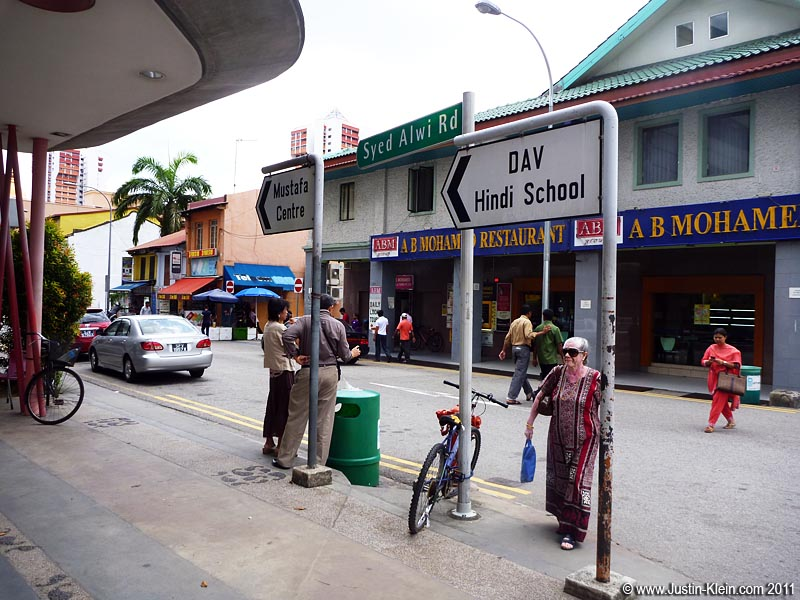 Yep, there's no question about it: this is Little India!