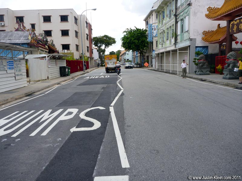 Speaking of drunk driving…what was up with this street painter?