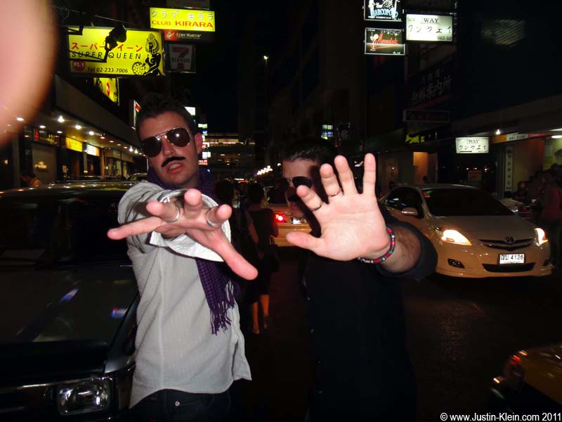 &#8230;Well okay, maybe just <i>one</i> fake mustache photo.  The Paparazzi just couldn&#8217;t seem to leave us alone : )