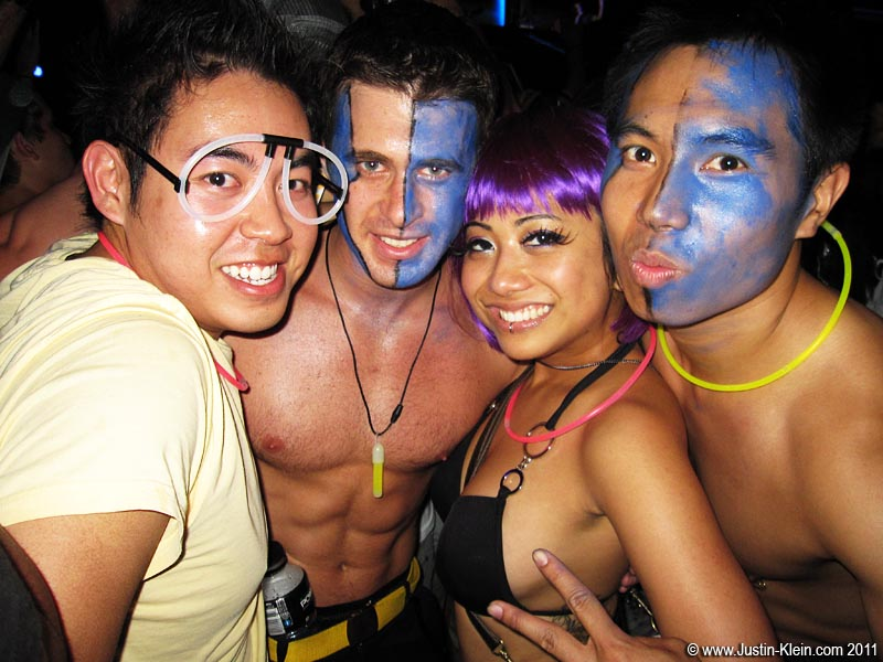 Electric Daisy Carnival 2011 (with Jim, Rin, and Herb).