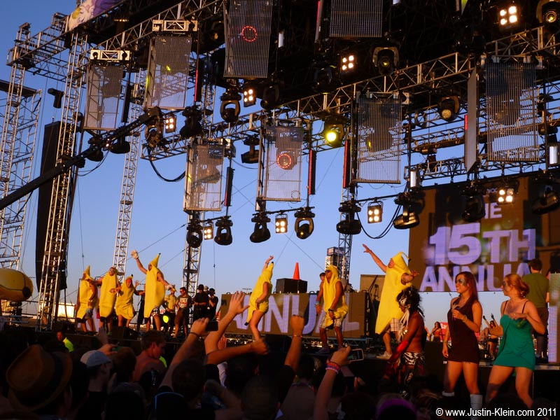 "When I looked up during Dada Life's set, what did I see?  A bunch of guys from my college fraternity ""going bananas!"""