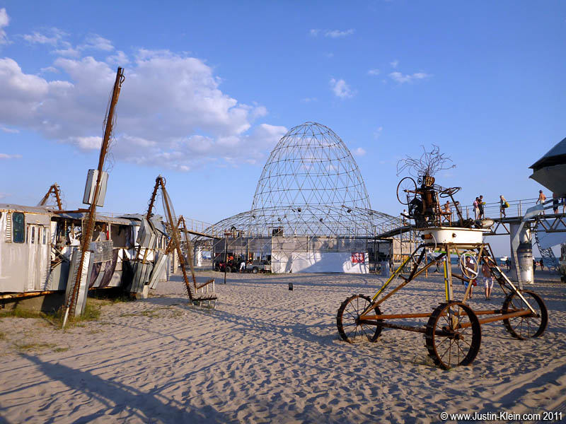 "Kazantip has been described as ""Eastern Europe's Burning Man,"" mainly due to its Mad Max-esque decor."
