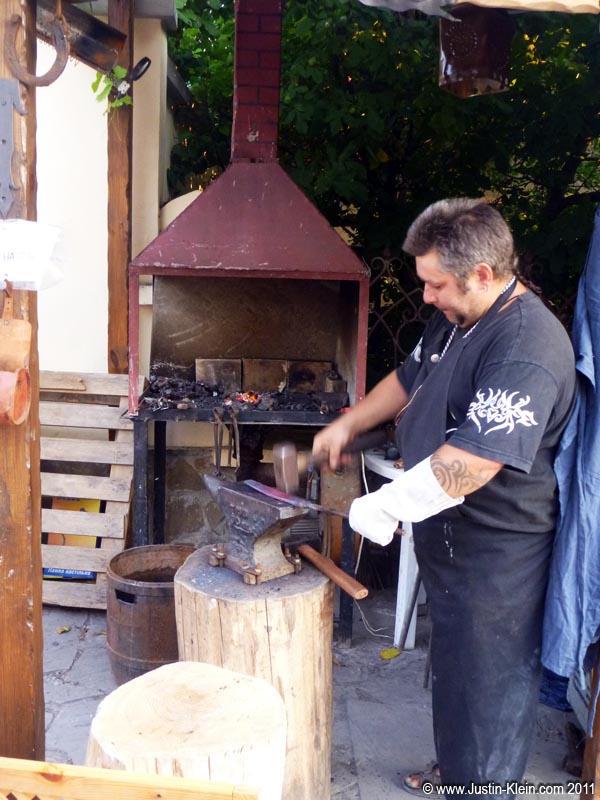 A real-life (Estonian) blacksmith.