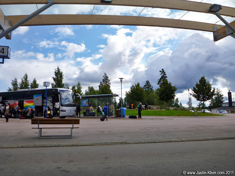 From Skavsta Airport, it's just 15-minutes by bus into town.