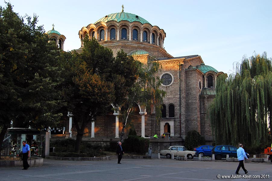 Sveta Nedelya, yet another grand domed cathedral.