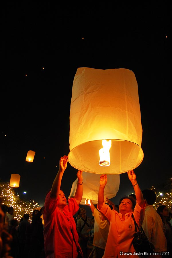 Plus of course the obligatory floating paper lanterns.