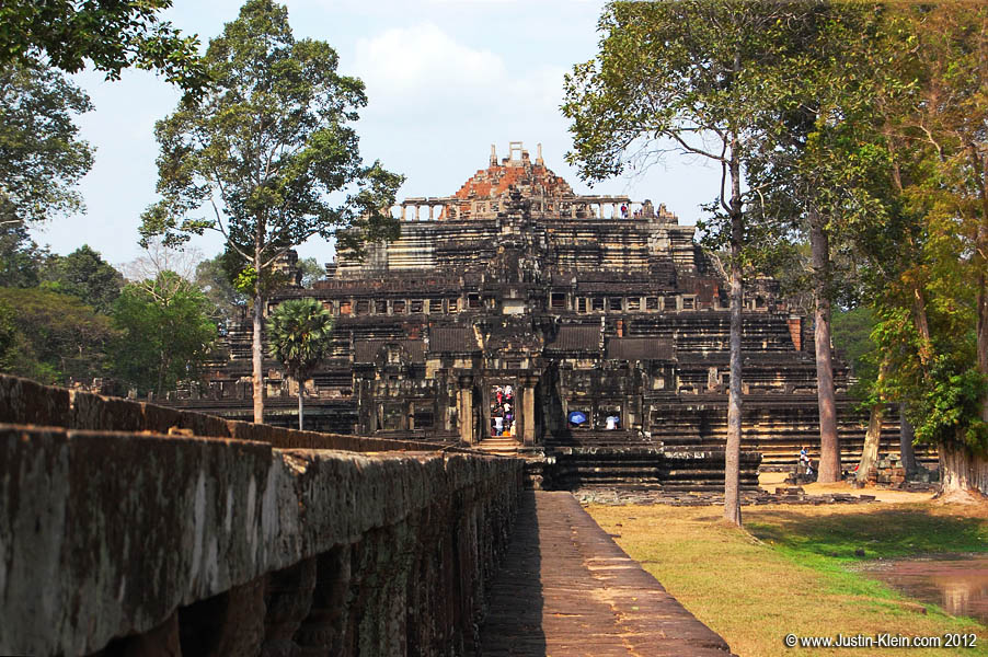 Baphuon, the next temple in Angkor Thom.