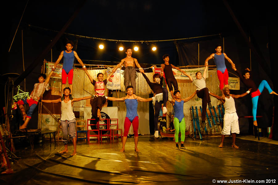 "Phare Ponleu Selpak, a renowned ""circus"" in Battambang."