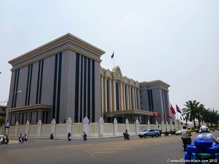 The Cambodian Prime Minister's office.  Comparing this to how 99% of the population lives, clearly he's not the type of leader to share his wealth with the people…