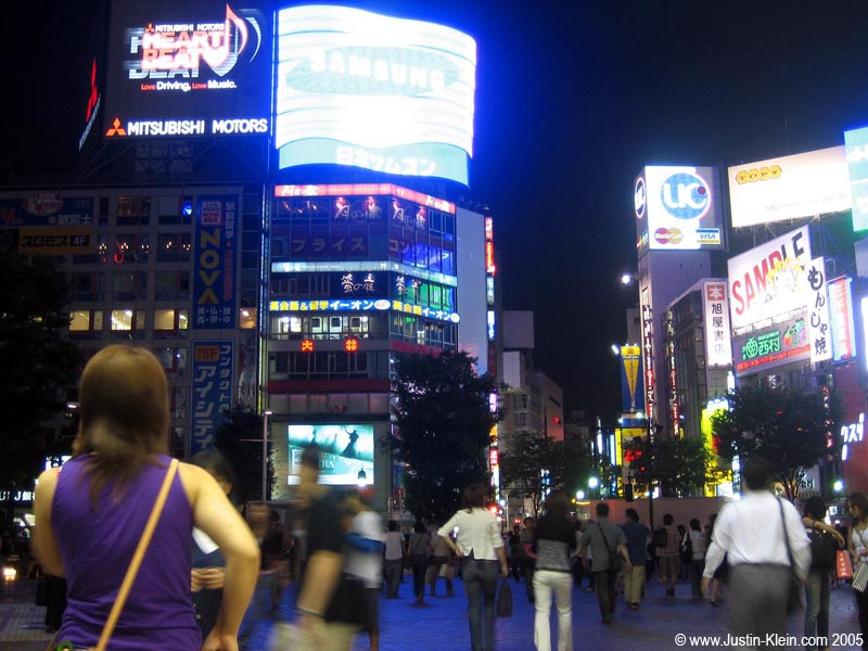 Shibuya, Tokyo...one crazy place. (Post)
