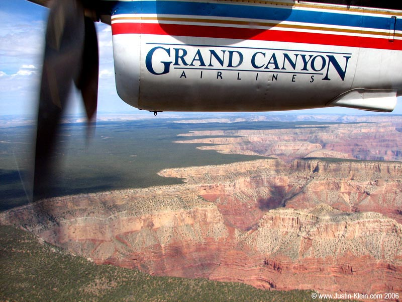 An aerial view of the Grand Canyon, Arizona  (Post)